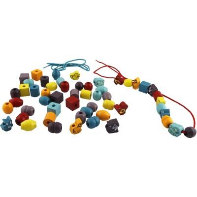 Okoïa Perles de couleurs animaux