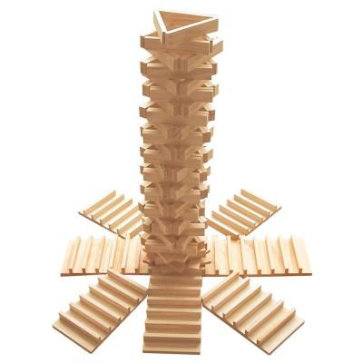 Okoïa Jeu de construction en bois : empiplak (250 pièces)