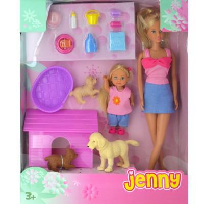 Jenny Poupée jenny animaux : chiens