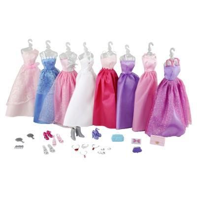 Jenny Poupée jenny : 8 robes et accessoires