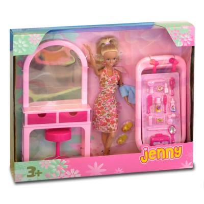 Jenny Poupée jenny dans sa salle de bain