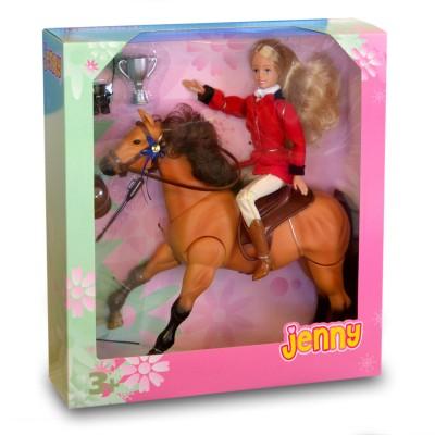 Jenny Poupée Jenny et son cheval