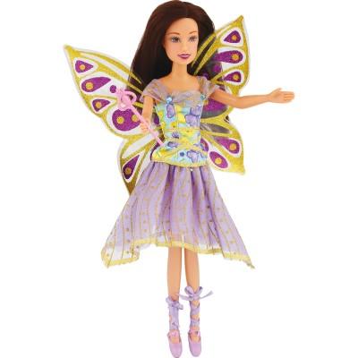 Jenny Poupée jenny fée papillon : violet