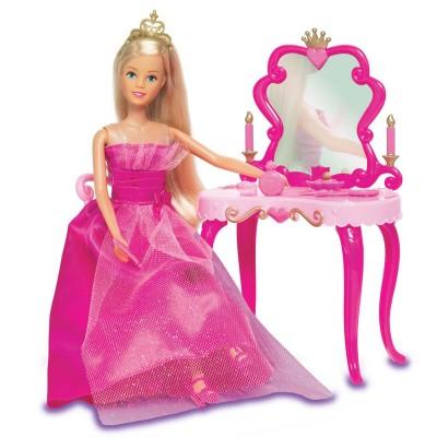 Jenny Poupée jenny princesse et sa coiffeuse