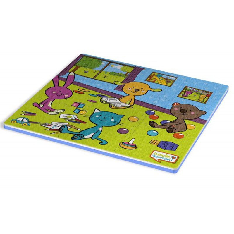 Tapis En Mousse 9 Dalles B B Animaux