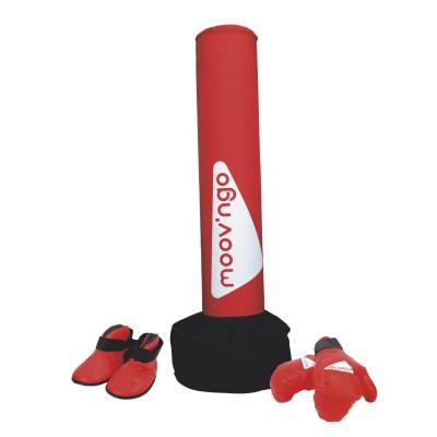 sac de frappe gonflable art martial et gants moov ngo. Black Bedroom Furniture Sets. Home Design Ideas