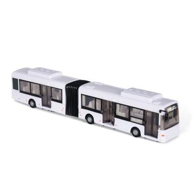 John World bus double blanc