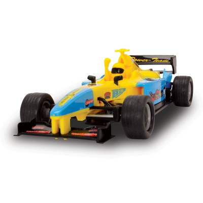 voiture de formule 1 jaune john world magasin de jouets pour enfants. Black Bedroom Furniture Sets. Home Design Ideas