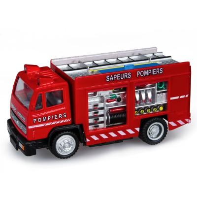 V hicule de secours camion de pompier john world magasin de jouets pour e - Camion pompier enfant ...