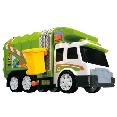 John World camion poubelle animé