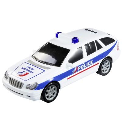 John World Voiture de police interactive : Break