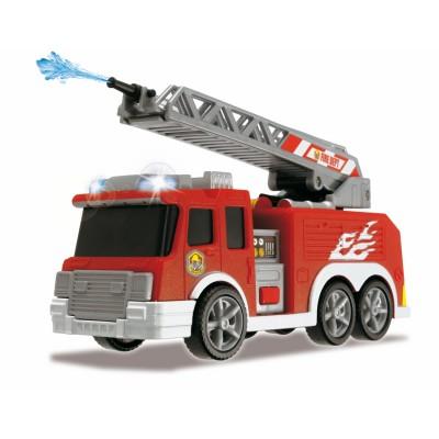 John World camion de pompier sonore lance à eau