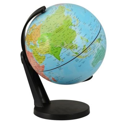 Kaptaia Globe terrestre rotatif 11 cm