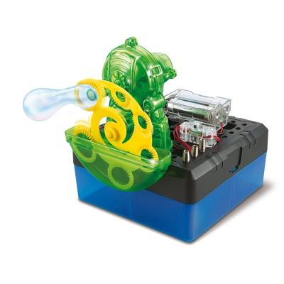Kaptaia Mini expérience electricité bubble science : fabrication de bulles