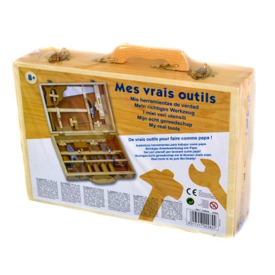 Mallette de bricolage mes vrais outils lgri magasin de jouets pour enfants Magasin de bricolage pour enfant