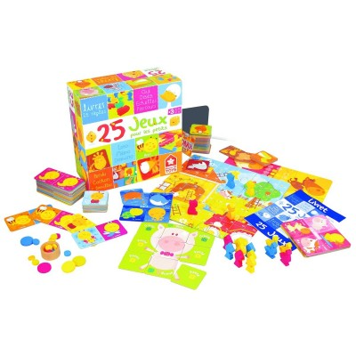 LGRI Coffret 25 jeux pour les petits