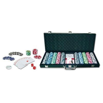 LGRI Mallette de poker 500 jetons