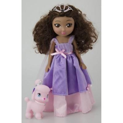 LGRI Poupée Il était une fois les princesses : Princesse Lisa et son petit caniche