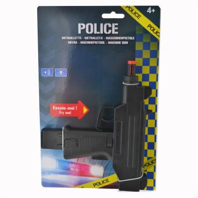 LGRI Mitraillette Police sonore et lumineuse