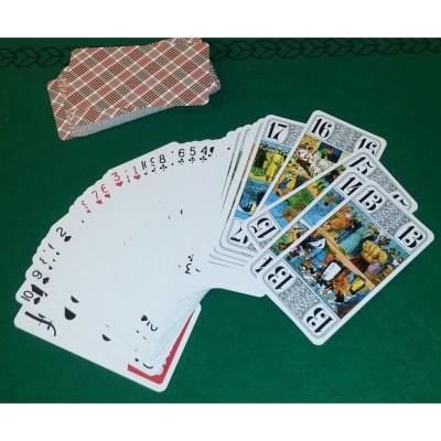 LGRI Jeu de tarot 78 cartes. Jeu de tarot 78 cartes