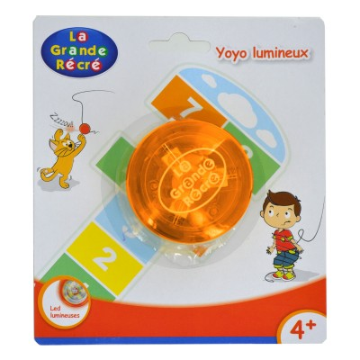 LGRI Yoyo lumineux orange