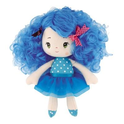 LGRI Poupée Chiffon : Petite fille bleue