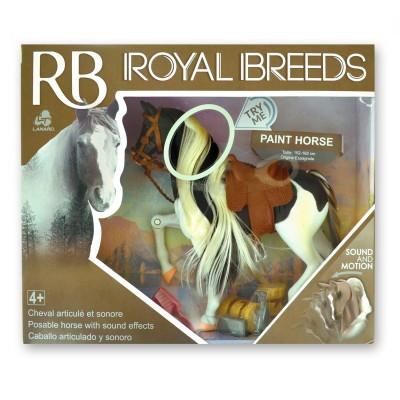 Lgri Cheval paint horse articulé et sonore