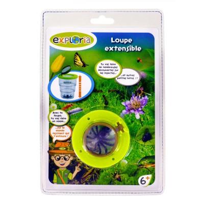 Lgri Boite loupe extensible pour insectes
