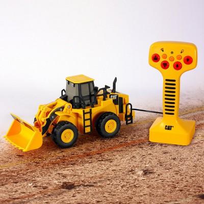 Toystate Véhicule de chantier radiocommandé : Chargeuse