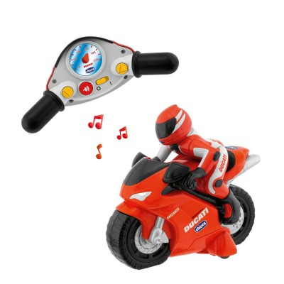 Chicco Véhicule radiocommandé : Moto Ducati 1198