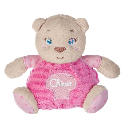 Chicco Peluche petit ourson rose