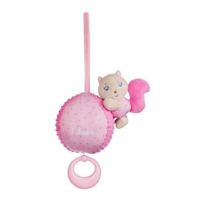 Chicco Carillon écureuil rose