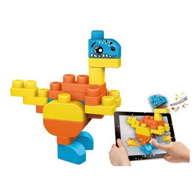 Chicco Blocs de construction app toys : dinosaure