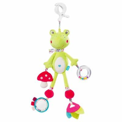 Babysun Doudou d'activités les coquettes : grenouille