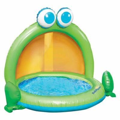 Babysun Pataugeoire à auvent grenouille