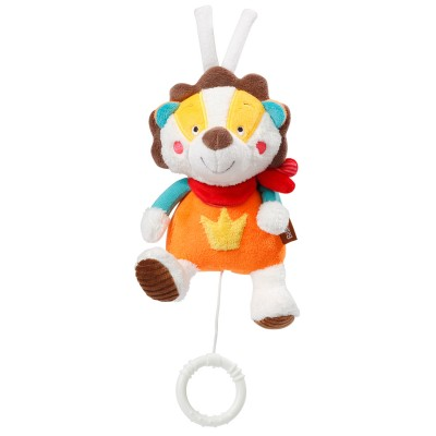 Babysun Mini peluche musicale jungle heroes : lion