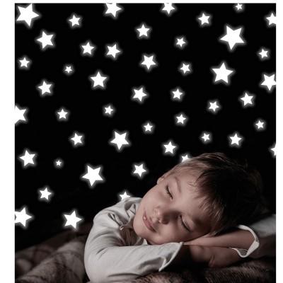 Room Studio stickers repositionnables : etoiles phosphorescentes