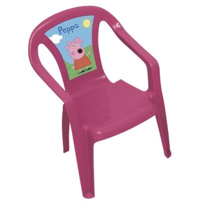 Room Studio chaise en plastique : peppa pig
