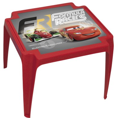 Room Studio table en plastique : cars