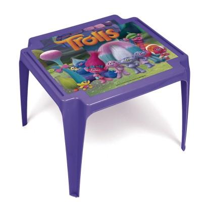 Room Studio table en plastique : trolls
