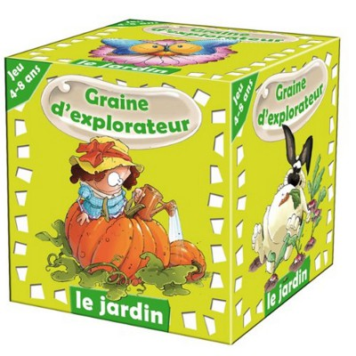 Amix Graine d'explorateur : le jardin