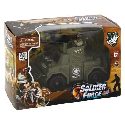 Chap Mei véhicule d'attaque soldier force viii et figurines
