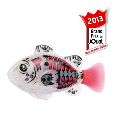 Splash Toys Robo Fish Pirate : Poisson blanc