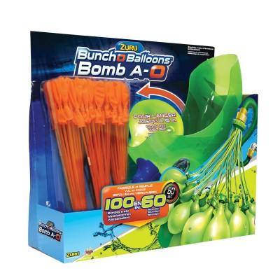 Splash Toys Lanceur bombe à eau Bomb A-O : Ballons oranges
