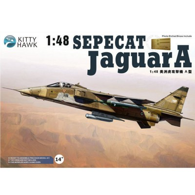 Kitty Hawk maquette avion : sepecat jaguar a-Ec 1/7 provence, base de st dizier 1994