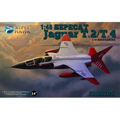 Kitty Hawk maquette avion 1/48 : sepecat jaguar t.2/t.4