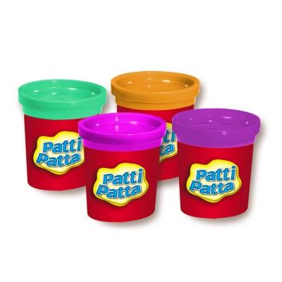 Patti Patta pâte à modeler patti patta : 4 pots