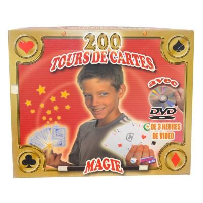 Ferriot Cric Mallette de magie : 200 tours de cartes. Mallette de magie : 200 tours de cartes