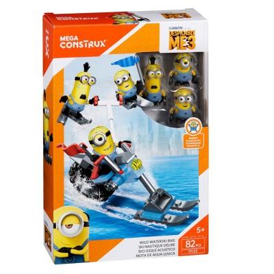 Megabloks Pack de construction mega construx moi moche et méchant 3 : les minions ski nautique délire