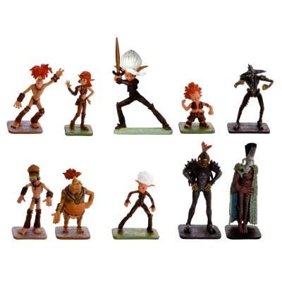 Lansay Coffret de 10 figurines : Arthur et la guerre des deux mondes